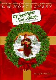 CHRISTMAS WITH ANNE by L.M. Montgomery