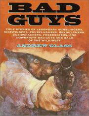 Cover art for BAD GUYS