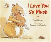 Book Cover for I LOVE YOU SO MUCH