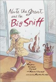 Cover art for NATE THE GREAT AND THE BIG SNIFF