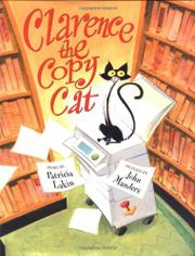 CLARENCE THE COPY CAT by Patricia Lakin