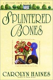 Cover art for SPLINTERED BONES