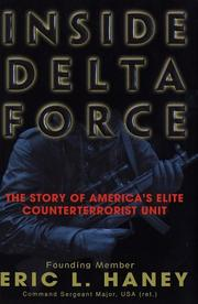 Cover art for INSIDE DELTA FORCE