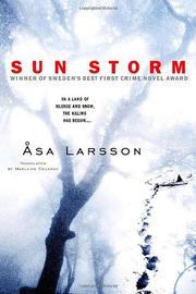 SUN STORM by Åsa Larsson