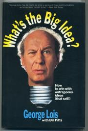 Book Cover for WHAT'S THE BIG IDEA?