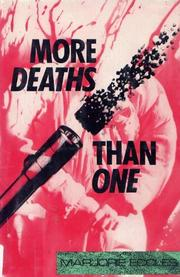MORE DEATHS THAN ONE by Marjorie Eccles