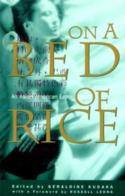 ON A BED OF RICE: An Asian American Erotic Feast by Geraldine--Ed. Kudaka