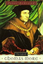 Book Cover for THE LIFE OF THOMAS MORE