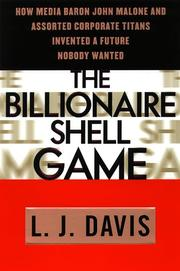 Cover art for THE BILLIONAIRE SHELL GAME