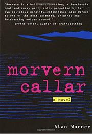 Book Cover for MORVERN CALLAR