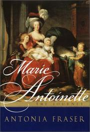 Cover art for MARIE ANTOINETTE