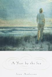 Cover art for A YEAR BY THE SEA