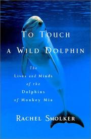 Cover art for TO TOUCH A WILD DOLPHIN