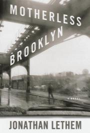 Cover art for MOTHERLESS BROOKLYN