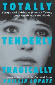 Book Cover for TOTALLY, TENDERLY, TRAGICALLY