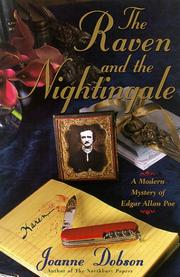 Cover art for THE RAVEN AND THE NIGHTINGALE