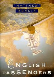 Book Cover for ENGLISH PASSENGERS