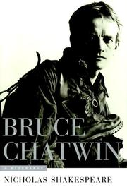 Cover art for BRUCE CHATWIN