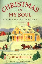 CHRISTMAS IN MY SOUL by Joe Wheeler