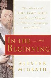 IN THE BEGINNING by Alister McGrath