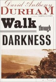 Cover art for WALK THROUGH DARKNESS
