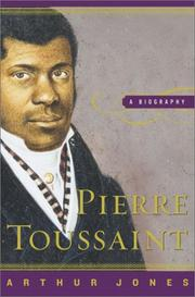 PIERRE TOUSSAINT by Arthur Jones