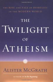 Cover art for THE TWILIGHT OF ATHEISM