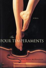 THE FOUR TEMPERAMENTS by Yona Zeldis McDonough