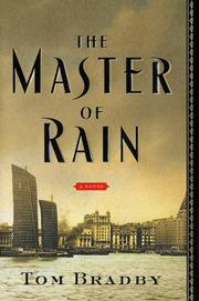 Cover art for MASTER OF RAIN