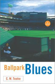 BALLPARK BLUES by C.W. Tooke