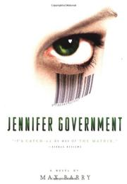 Book Cover for JENNIFER GOVERNMENT