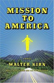 Cover art for MISSION TO AMERICA