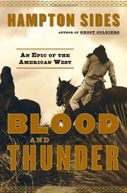 Book Cover for BLOOD AND THUNDER