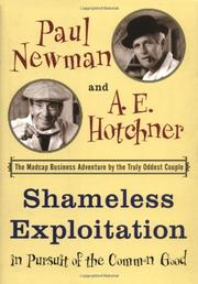 Cover art for SHAMELESS EXPLOITATION IN PURSUIT OF THE COMMON GOOD