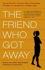 Cover art for THE FRIEND WHO GOT AWAY