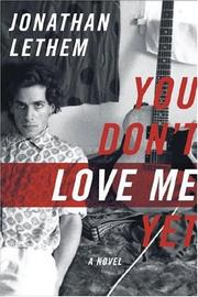 Cover art for YOU DON'T LOVE ME YET