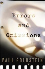 Book Cover for ERRORS AND OMISSIONS