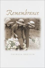 Book Cover for REMEMBRANCE