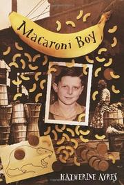 Book Cover for MACARONI BOY
