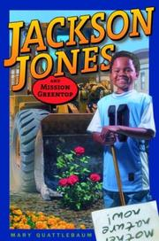 Cover art for JACKSON JONES AND MISSION GREENTOP