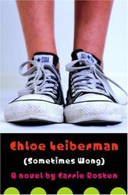Book Cover for CHLOE LEIBERMAN