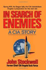 IN SEARCH OF ENEMIES by John Stockwell