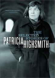 Cover art for THE SELECTED STORIES OF PATRICIA HIGHSMITH