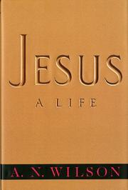 JESUS by A.N. Wilson