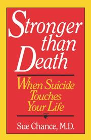 STRONGER THAN DEATH by M.D. Chance