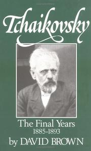 TCHAIKOVSKY by David Brown