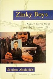 ZINKY BOYS by Svetlana Alexievich