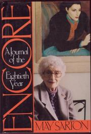 ENCORE by May Sarton