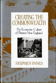 Cover art for CREATING THE COMMONWEALTH