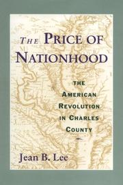 THE PRICE OF NATIONHOOD by Jean B. Lee